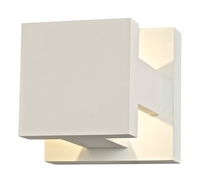LEDWALL003 - X Shaped Up/Down Directional LED Wall Sconce - Available in White, Black, Bronze, Silver Grey or Graphite