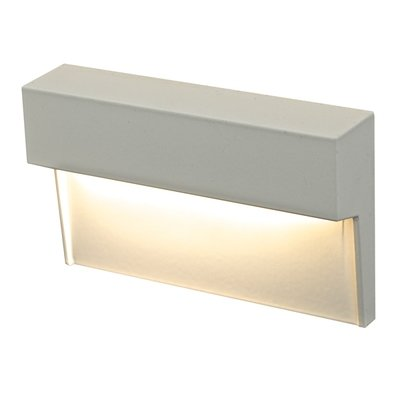 LEDSTEP001 - Horizontal LED Step Light - Available in White, Black, Bronze, or Silver Grey