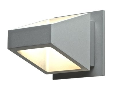 LEDWALL004 - Trapezoidel Shaped Up/Down Directional LED Wall Sconce - Available in White, Black, Bronze, Silver Grey or Graphite