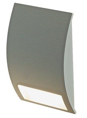 LEDSTEP003 - Half Moon LED Step Light in Black, White, Bronze or Silver Grey