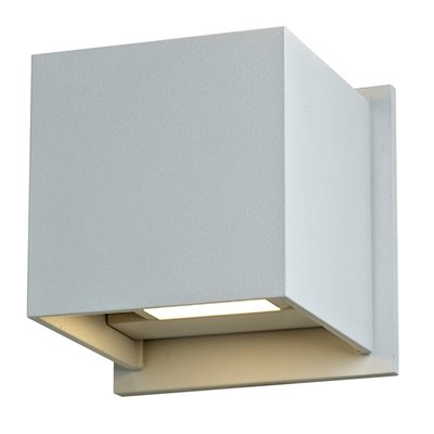 LEDWALL001 - Square, Up/Down Directional LED Wall Sconce - Available in White, Black, Bronze, Silver Grey or Graphite