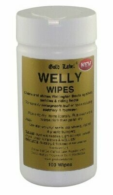 Gold Label Welly Wipes (100)