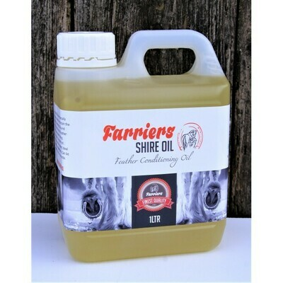 Farriers Equine Feather Conditioning Oil with Peppermint (500ml)