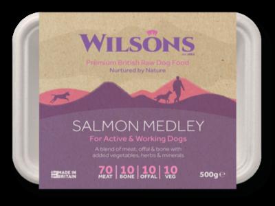 Wilsons Salmon Medley (500g)