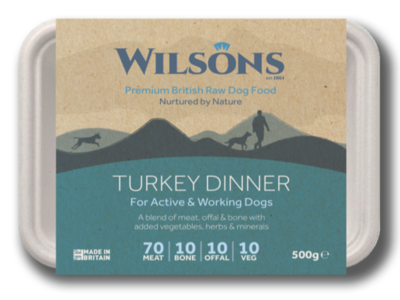 Wilsons Turkey Dinner (500g)