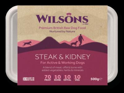 Wilsons Steak and Kidney (500g)