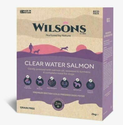 Wilsons Cold Pressed Clear Water Salmon  (2kg)