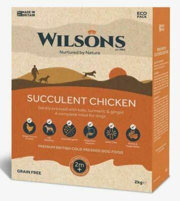 Wilsons Cold Pressed Succulent Chicken  (2kg)