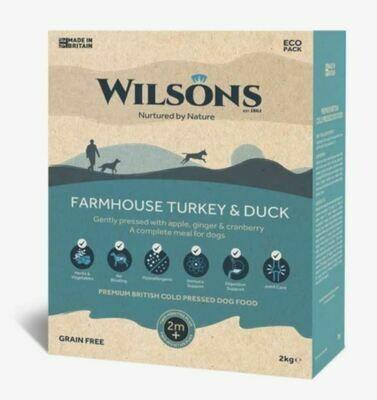Wilsons Cold Pressed Farmhouse Turkey & Duck (2kg)