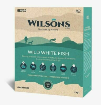 Wilsons Cold Pressed Wild White Fish (2kg)