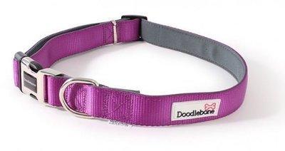 Doodlebone Extra Large Padded Collar (Purple)