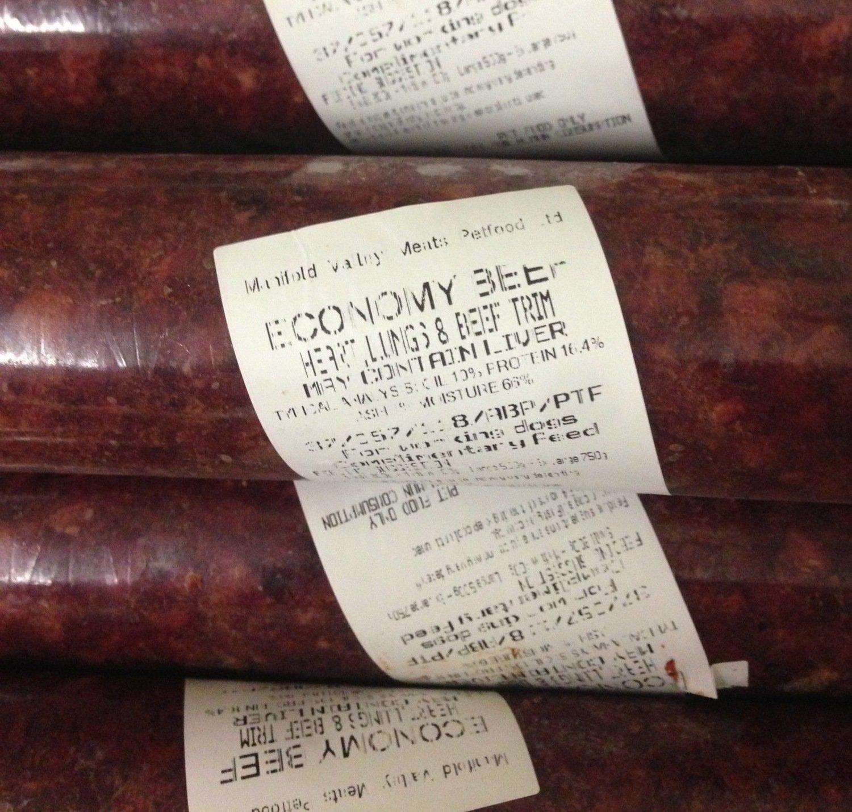 MVM Economy Beef (454g)