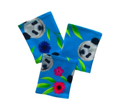 Повязка на руку Dexcom, Omnipod - панда синий фон