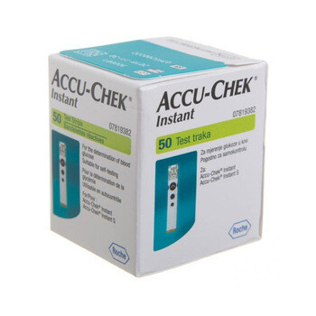 Accu-Chek Instant тест-полоски - 50 шт