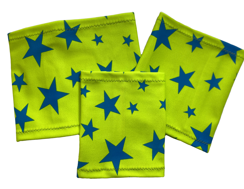 Повязка на руку Dexcom, Omnipod Freestyle Libre - звезда зеленый фон
