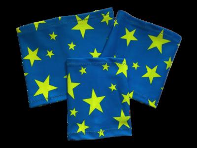 Повязка на руку Dexcom, Omnipod Freestyle Libre - звезда синий фон