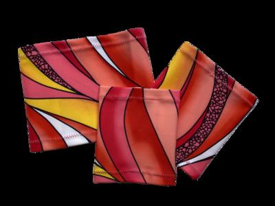 Повязка на руку Dexcom, Omnipod - розовый абстракт