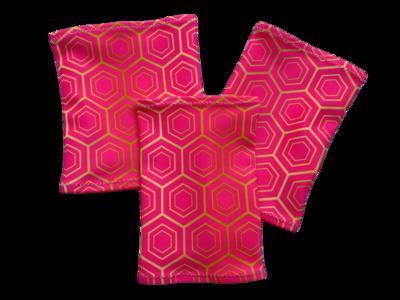 Повязка на руку Dexcom, Omnipod - розовые ромбики