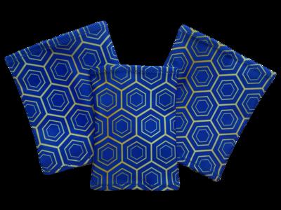 Повязка на руку Dexcom, Omnipod - синие ромбики