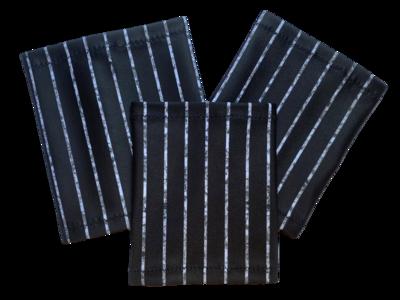 Повязка на руку Dexcom, Omnipod - черная - полосы