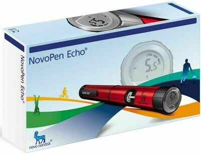 Шприц-ручка новопен эхо (novopen echo) с шагом 0.5 ед.