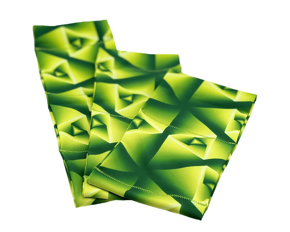 Пояс из эластичной лайкры - зеленый