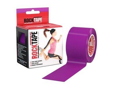 Кинезио тейп RockTape - фиолетовый 5м х 5см