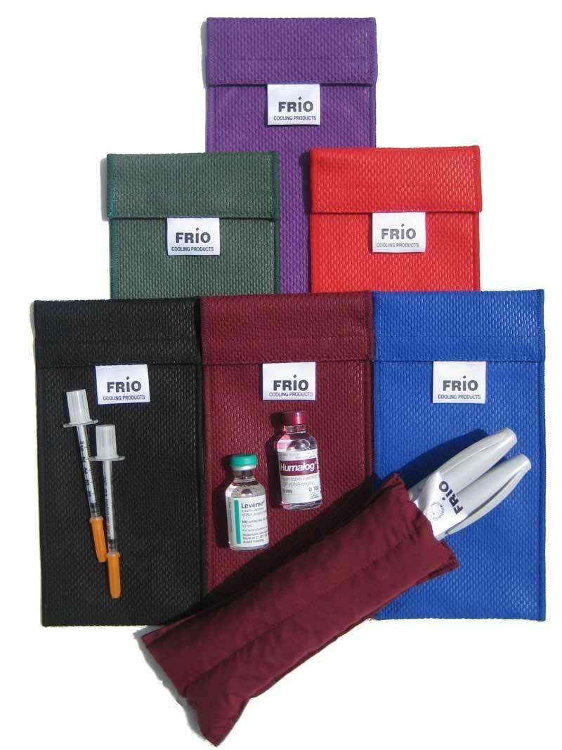 Чехол ФРИО для хранения 2-х инсулиновых ручек (FRIO Duo Wallet)