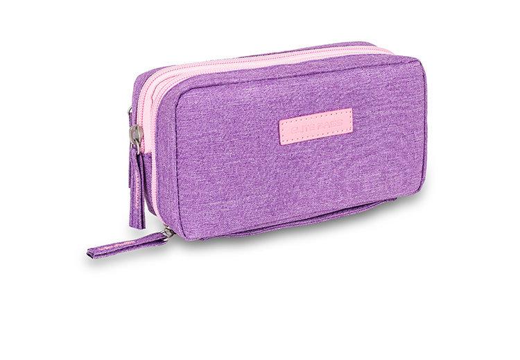 Изотермический пенал с гелевым пакетом - фиолетовый
