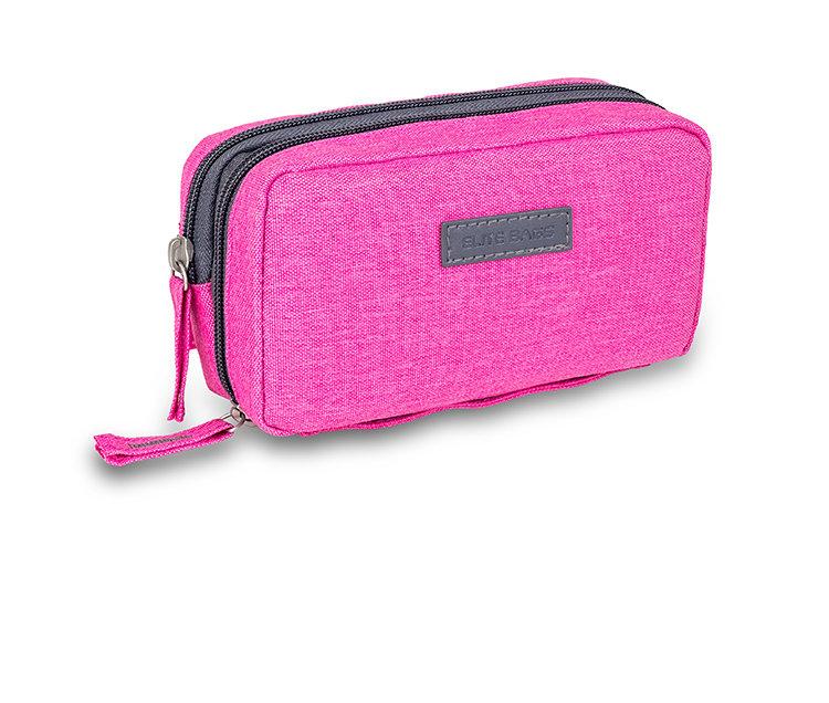 Изотермический пенал с гелевым пакетом - розовый