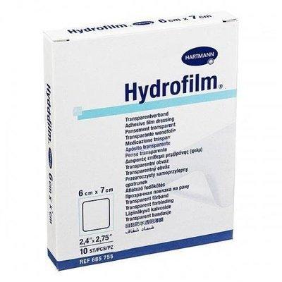 Прозрачный пластырь Hydrofilm 10x15cm