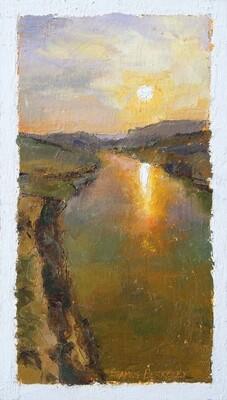 'Baffling Silence' Painting