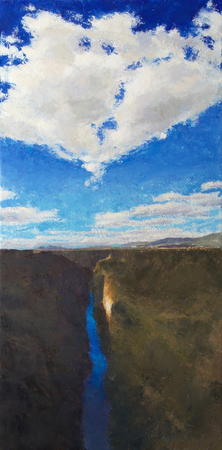 'Gorge Clouds' Painting