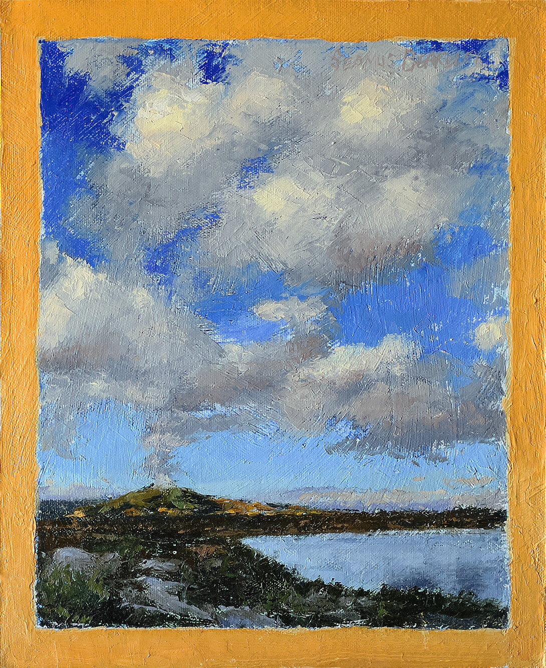 'Clouds Arising' Painting