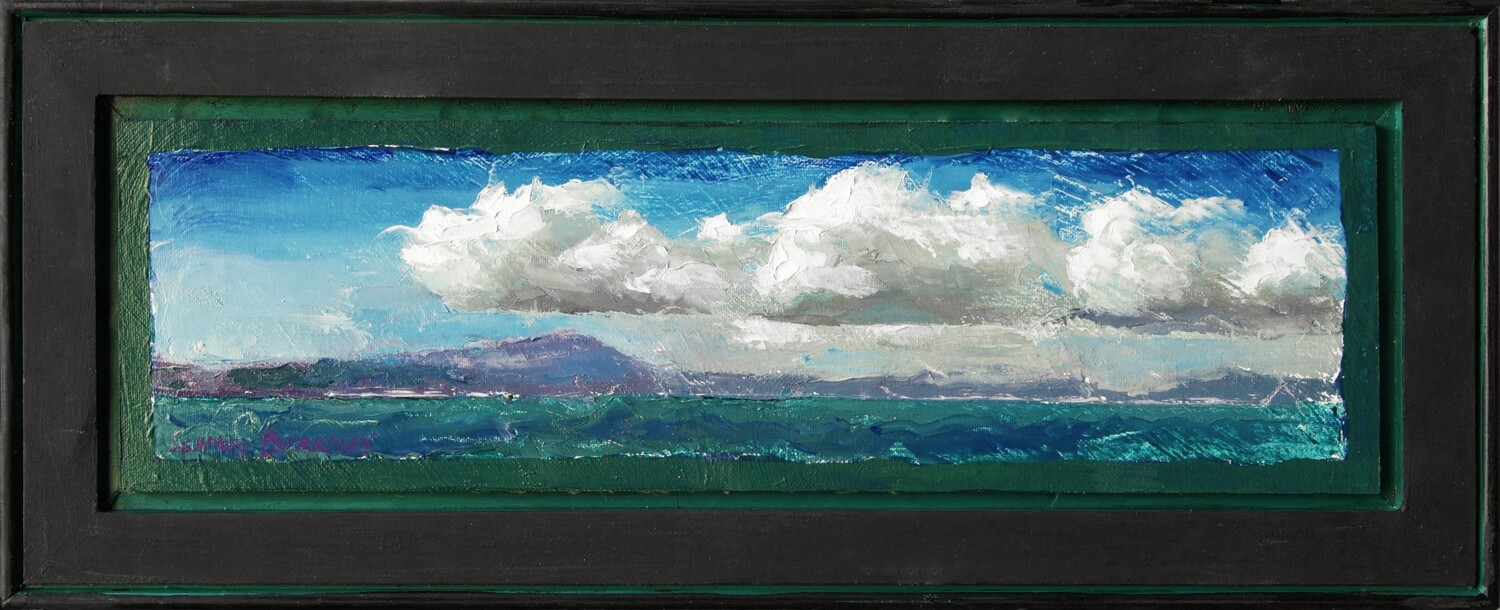 'Remembering the Bay I' Painting