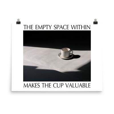 'Empty Cup' Print