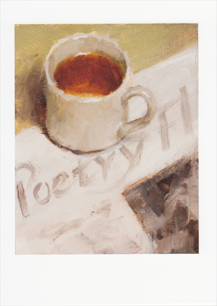 'Tea and Poetry' Notecard