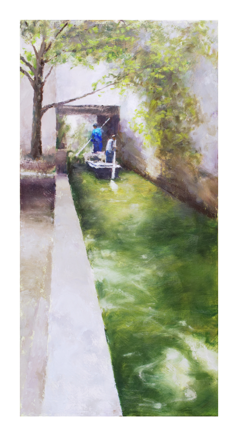 'Canal, Suzhou, China' Giclée
