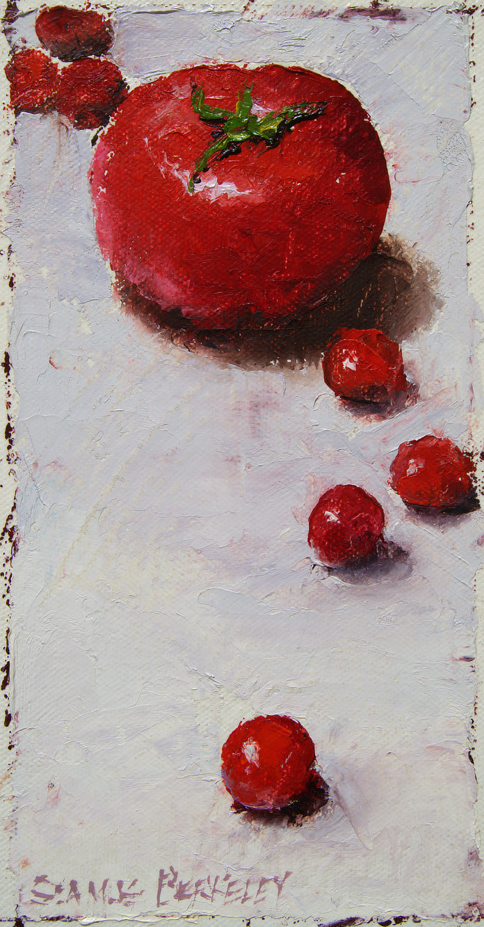 'Multiplying Tomatoes' Painting