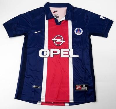 Paris Saint-Germain   MAGLIA CASA 1998 1999 JERSEY HOME 98 99 PSG