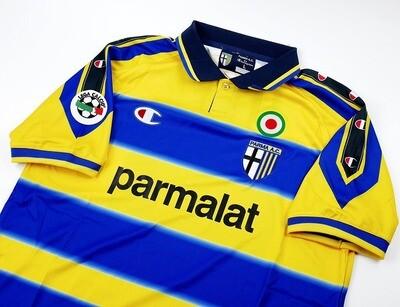 PARMA MAGLIA CASA JERSEY HOME 1999 2000