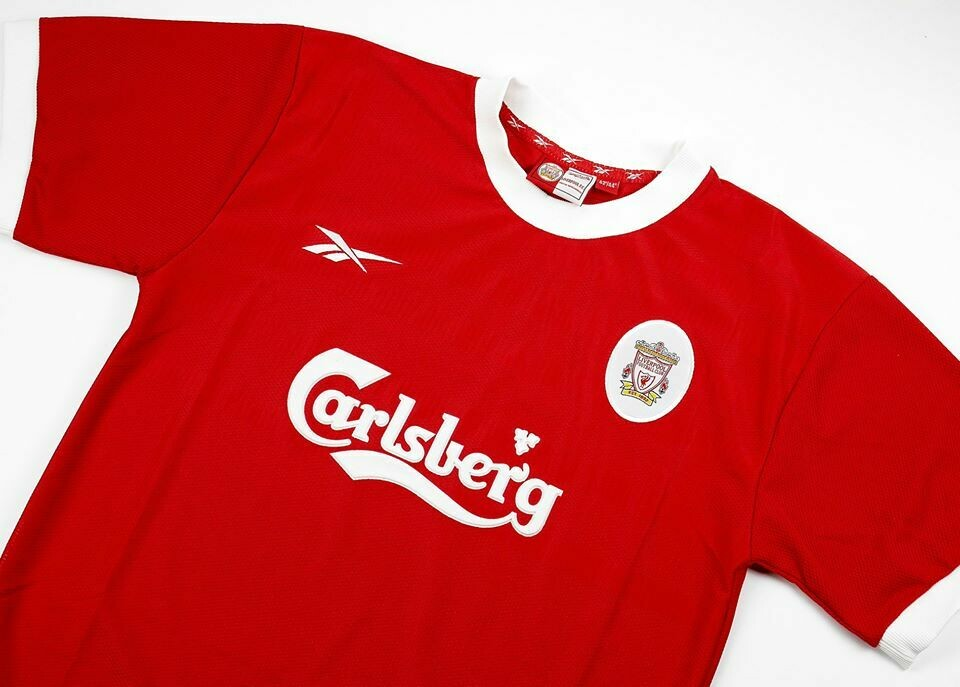 LIVERPOOL HOME 1999-2000 (FIRST SEASON GERRARD) MAGLIA CASA 99 00