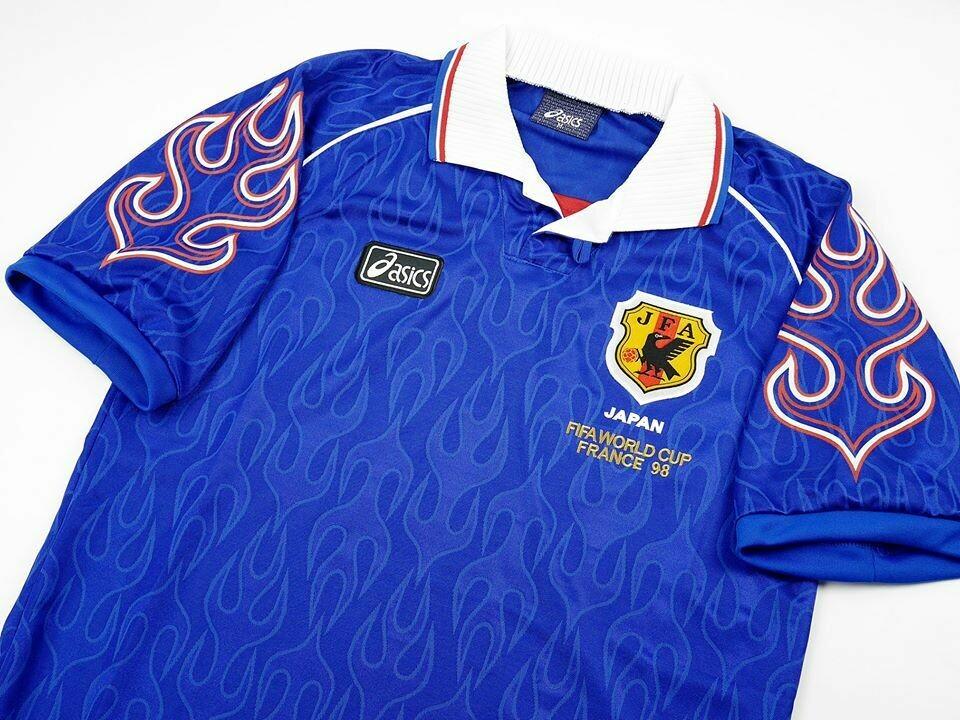 JAPAN HOME WORLD CUP 1998 GIAPPONE MAGLIA CASA MONDIALI 98
