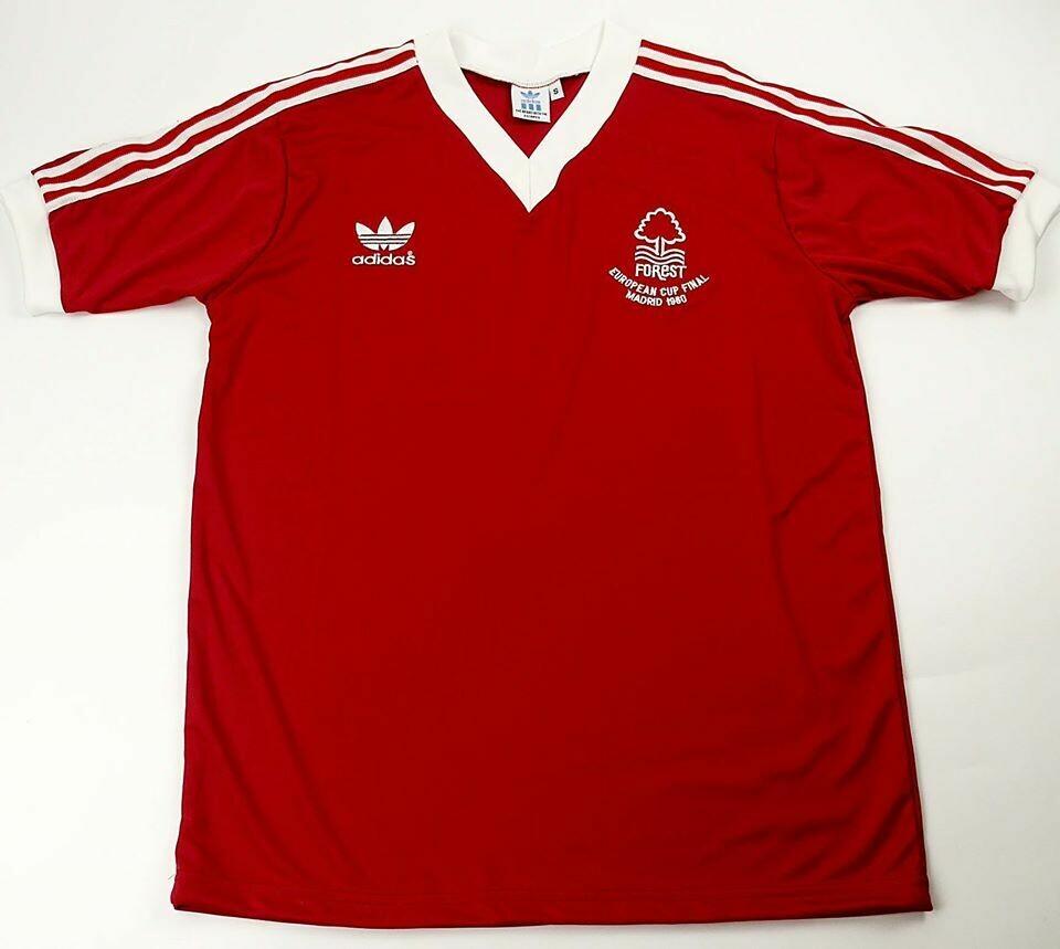 NOTTINGHAM FOREST EUROPEAN CUP FINAL 1980 MAGLIA FINALE