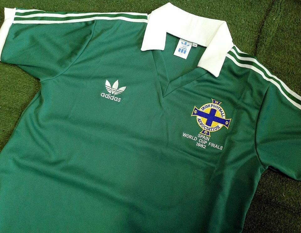NORTHERN IRELAND HOME WC 1982 IRLANDA DEL NORD 1982