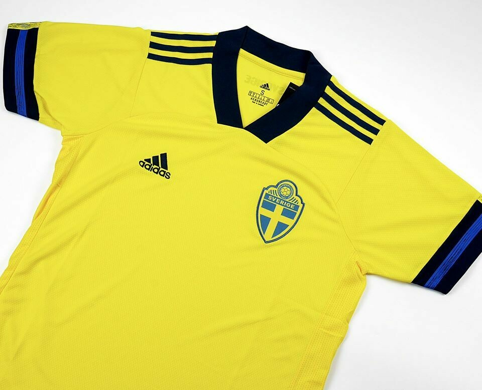 SWEDEN HOME EURO 2019-2020 MAGLIA CASA