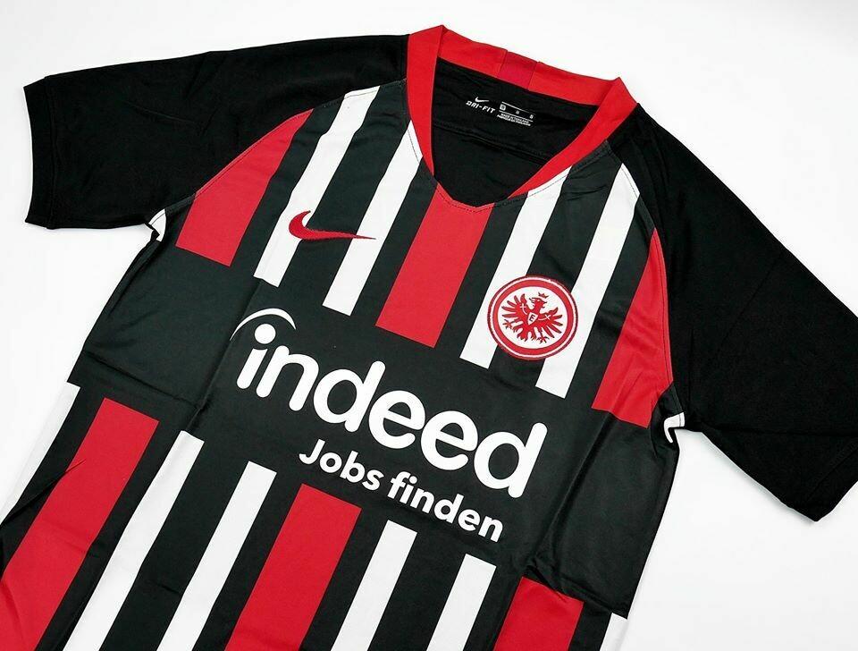 Eintracht Frankfurt HOME 2019-2020 MAGLIA CASA