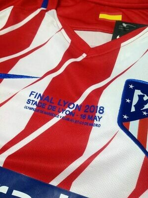 ATH MADRID HOME FINAL EUROPA 2017-2018 MAGLIA CASA