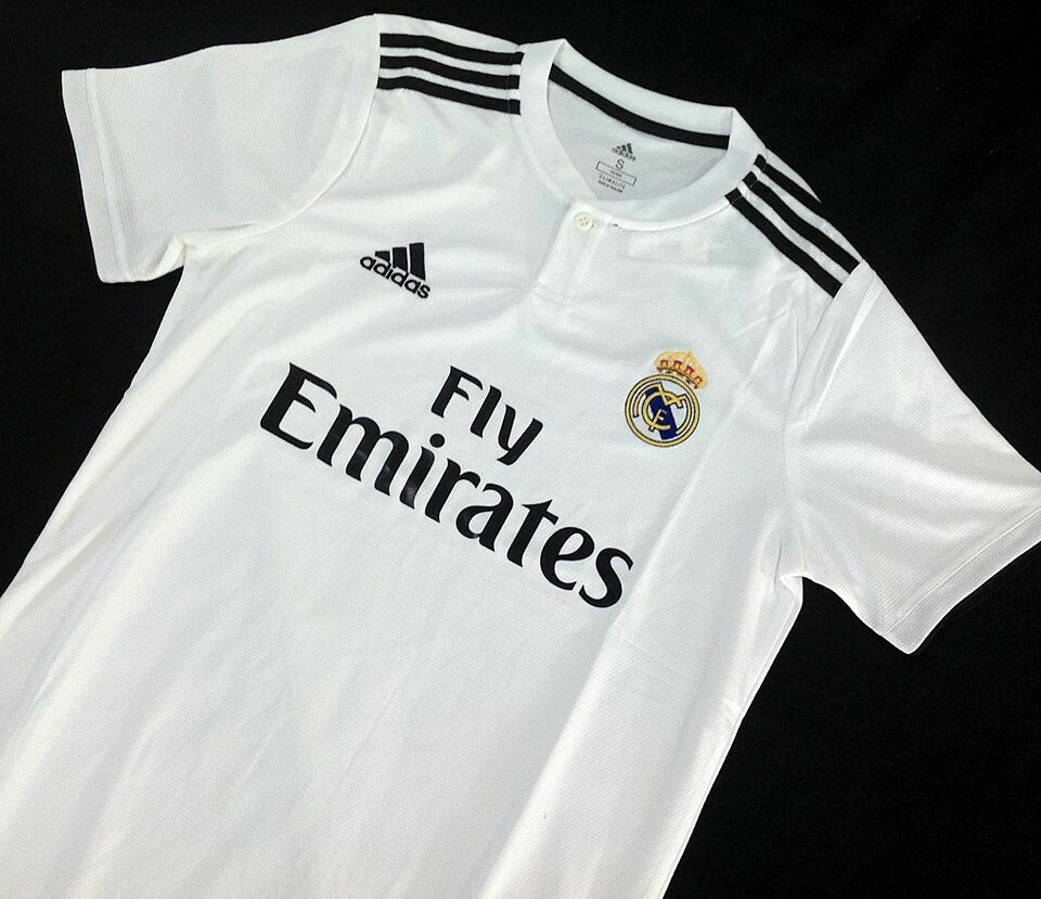 REAL MADRID HOME 2018-2019 FAN VERSION MAGLIA CASA