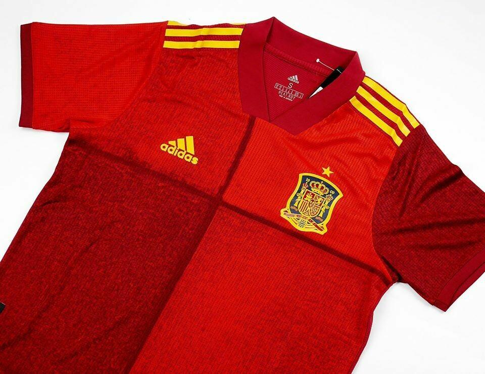 SPAIN HOME PLAYER EURO 2020 SPAGNA MAGLIA CASA  2020